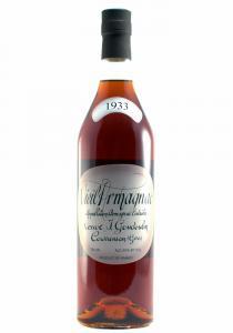 Veuve J. Goudoulin 1933 Vieux Bas-Armagnac