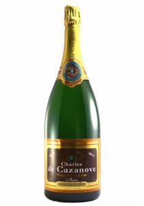 Charles de Cazanove Magnum Tete De Cuvee Brut Champagne