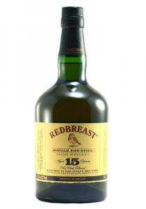Red Breast 15 Year Old Pot Still Irish Whiskey