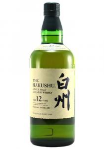 Hakushu 12 Year Old Japanese Whiskey