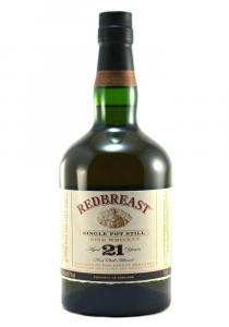 Red Breast 21 YR Single Pot Still Irish Whiskey