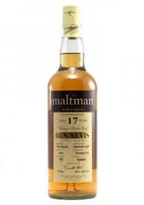 Ben Nevis 17 YR The Maltman Bottling Single Malt Scotch Whisky