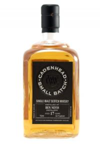 Ben Nevis 17 YR Cadenhead Bottling Single Malt Scotch Whisky