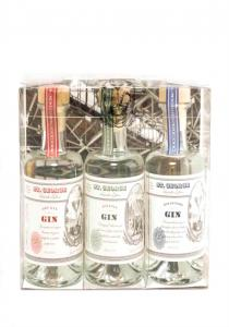 St. George 3 Pack Gin Gift Sampler  *200ML
