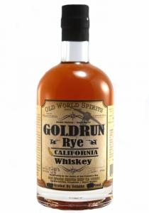 Goldrun Rye California Whiskey D&M Bottling