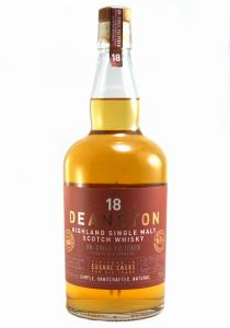 Deanston 18 YR Cognac Finish Single Malt Scotch Whisky