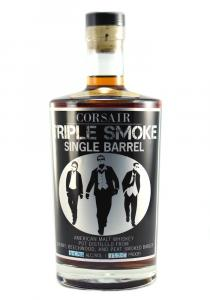 Corsair D&M Single Barrel Triple Smoke Whiskey