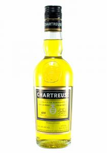 Chartreuse Diffusion Half Bottle Liqueur Fabriquee - Yellow