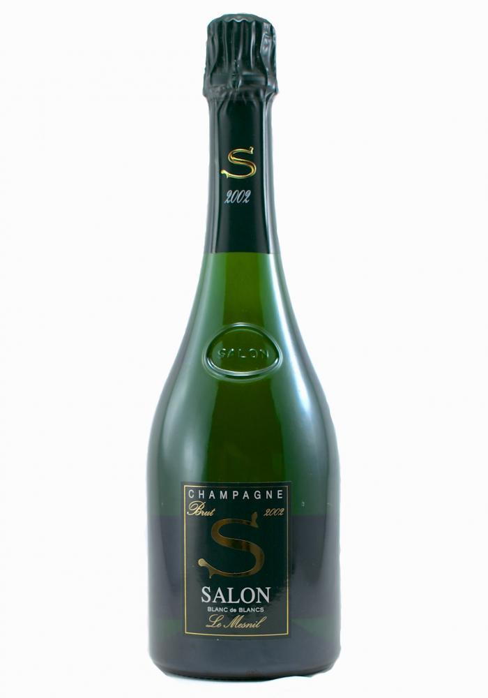 Salon Le Mesnil 2002 Magnum Blanc De Blancs Brut Champagne 1.5 Liters