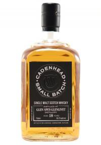 Glen Spey-Glenlivet 18 Yr Cadenhead Single Malt Scotch Whisky
