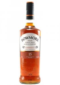 "Bowmore ""Darkest"" 15 YR Single Malt Scotch Whisky"