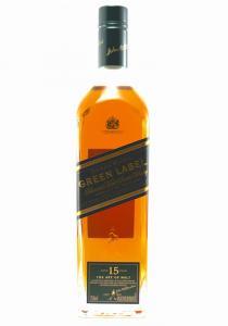 Johnnie Walker 15 Year Old Green Label Blended Malt Scotch Whisky