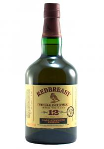 Red Breast 12 YR Cask Strength Pot Still Irish Whiskey