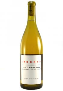 Inconnu 2014 Sonoma County Pinot Gris