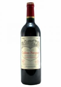 Chateau Calon-Segur 1995 Saint Estephe Bordeaux