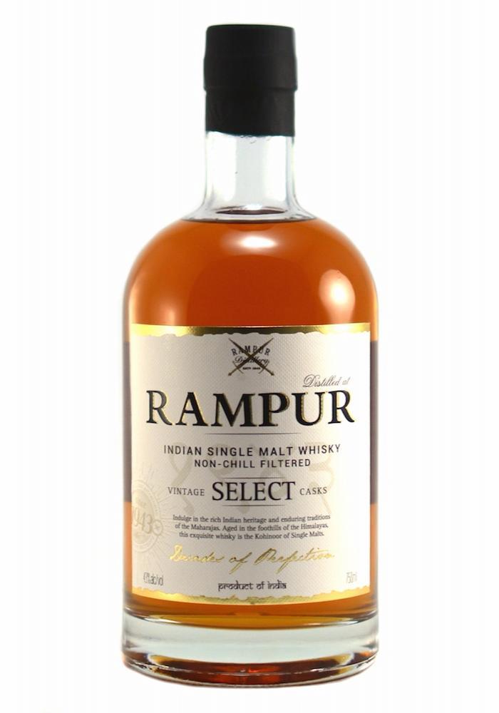 Rampur Indian Single Malt Whiskey