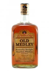 Old Medley 12 Yr Kentucky Straight Bourbon Whiskey