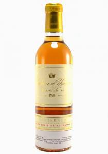 Chateau d'Yquem Half Bottle 1998 Sauternes