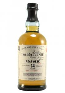 Balvenie 14 YR. Peat Week Single Malt Scotch Whisky