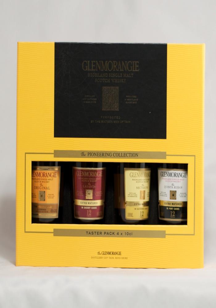 Single Malt Scotch Whisky 4 Bottle Gift Set