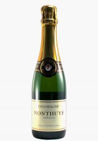 Monthuys Pere et Fils Half Bottle Brut Reserve Champagne