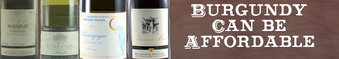 Inexpensive Burgundy
