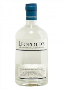 Leopold Bros. Navy Strength American Gin