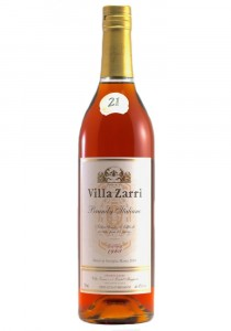 Villa Zarri 21 Year Old Brandy Italiano