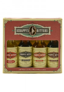 Scrappy's Bitters Essentials Flavors Gift Pack