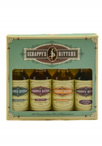 Scrappy's Bitters New Classic Flavors Gift Pack
