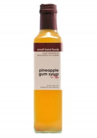 Small Hand Pineapple Gum Syrup  8.5 oz