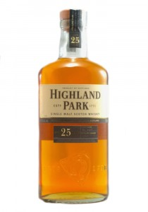 Highland Park 25 YR Single Malt Scotch Whisky