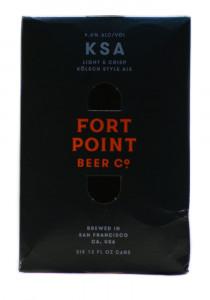 Fort Point KSA Kolsch Style Ale