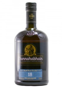 Bunnahabhain 18 YR Single Malt Scotch Whisky