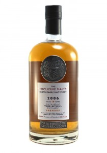 Tomintoul 10 YR Exclusive Malts Bottling Single Malt Scotch Whisky