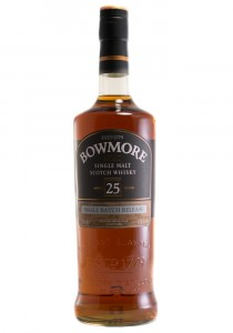 Bowmore 25 YR. Single Malt Scotch Whisky