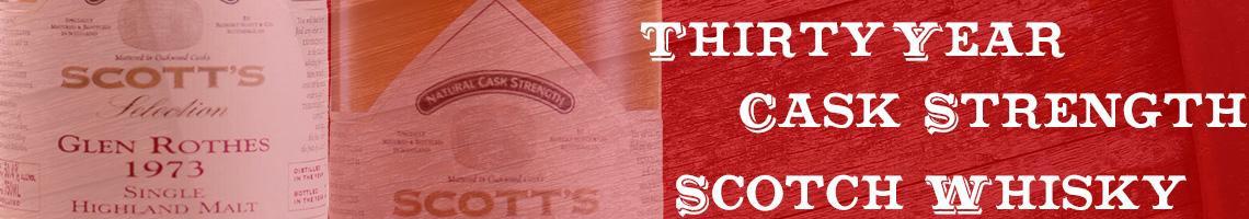 Scotts 30 YR. Glenrothes
