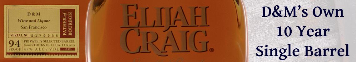 Elijah Craig D&M