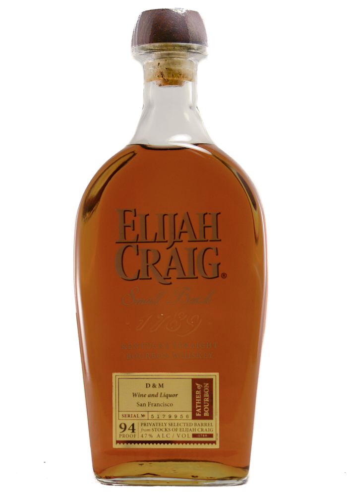 Højmoderne Elijah Craig D&M Barrel Pick Straight Bourbon Whiskey NT-55