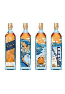 Johnnie Walker Blue San Francisco Bottle