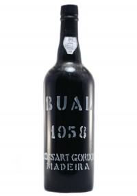 Cossart Gordon 1958 Bual Madeira