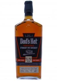 Dad's Hat D&M Bottling Pennsylvania Straight Rye Whiskey