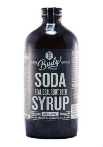 Burly Root Beer Soda Syrup