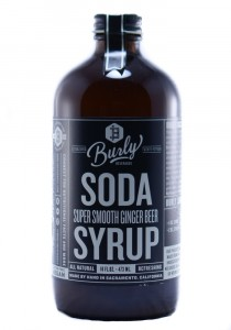 Burly Ginger Beer Syrup