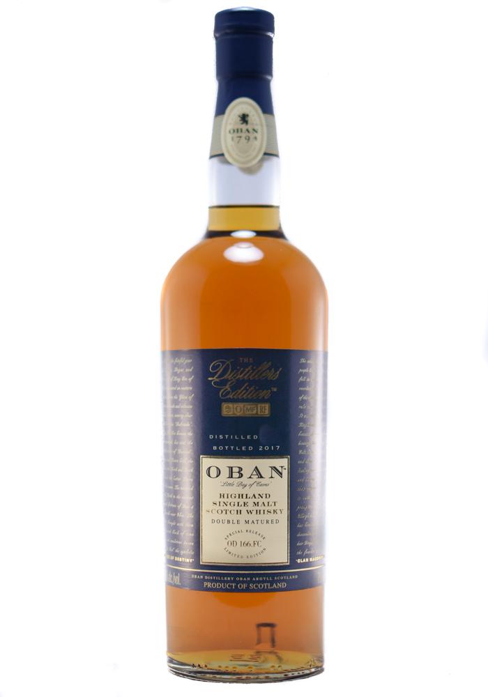 Oban 2017 Distillers Edition Single Malt Scotch Whisky