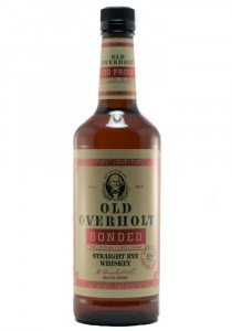 Old Overholt Bonded Straight Rye Whiskey