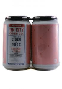 Tin City Polly Dolly Hopped Rose Cider
