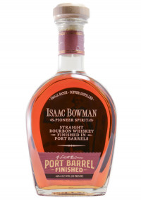 Isaac Bowman Port Finished Straight Bourbon Whiskey