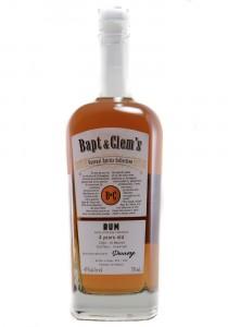Bapt & Clem's 4YR Maurice Island Rum