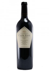 Cain Five 2013 Spring Mountain Red Wine